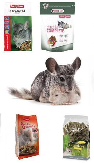 aliments complets pour chinchilla